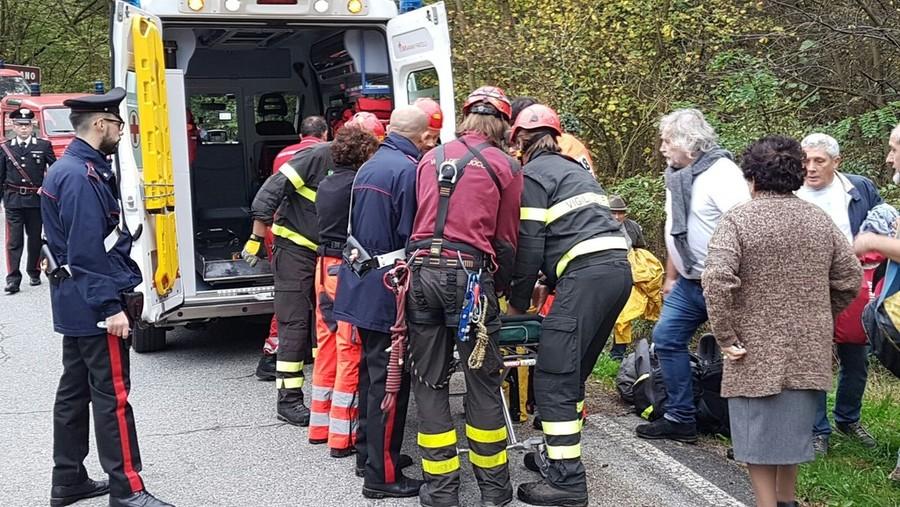 Photo of Narni, ciclista cade in un dirupo. E' ricoverato in prognosi riservata