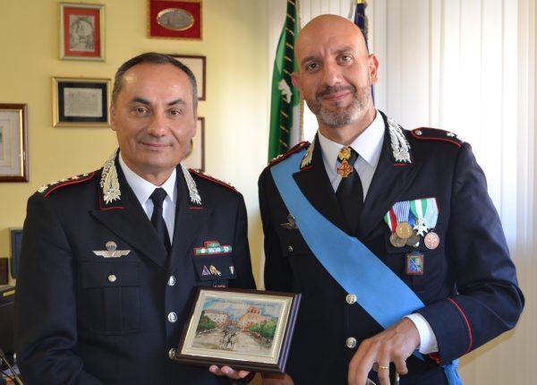 Photo of Carabinieri Terni, il maggiore Dario Allegretti saluta. Arriva il capitano Perlorca