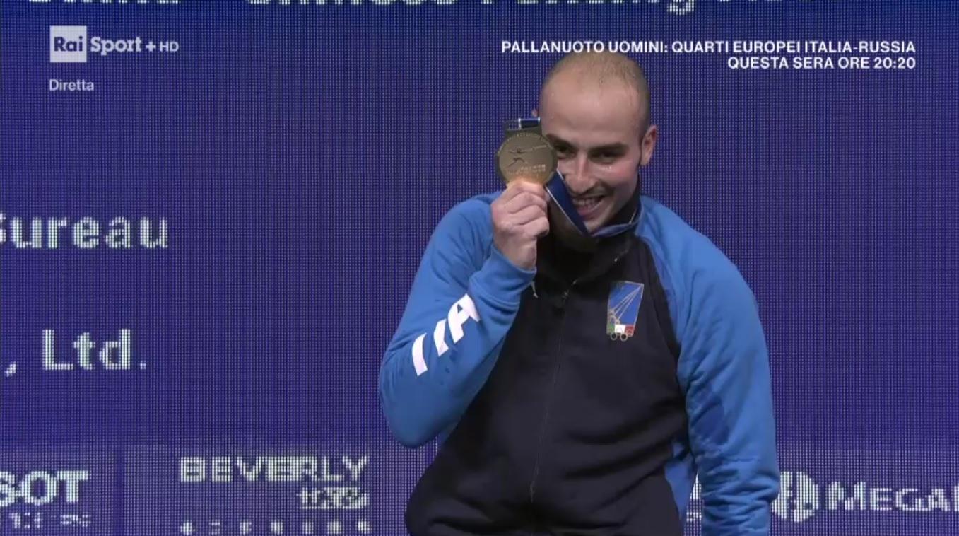 Photo of Alessio Foconi oro ai mondiali di Cina nel fioretto individuale maschile