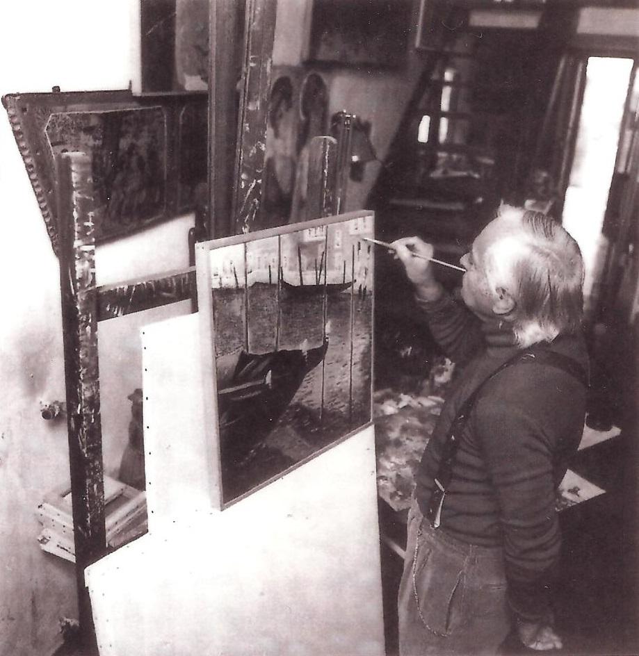 Photo of Centenario della nascita dell'artista ternano Otello Fabri nel segno di Venezia