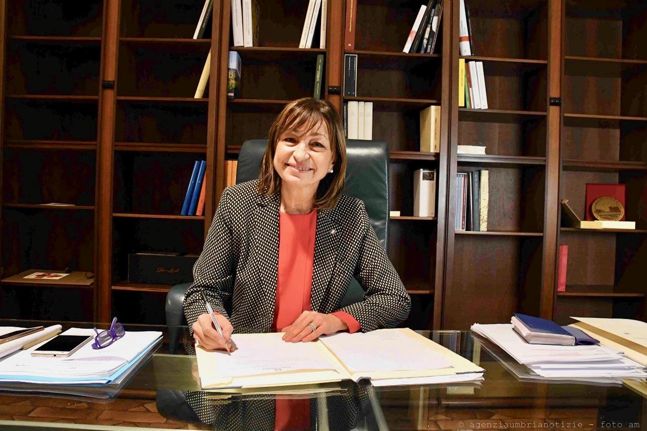 Photo of Regione: la presidente Tesei vara la giunta, Morroni sarà il vice
