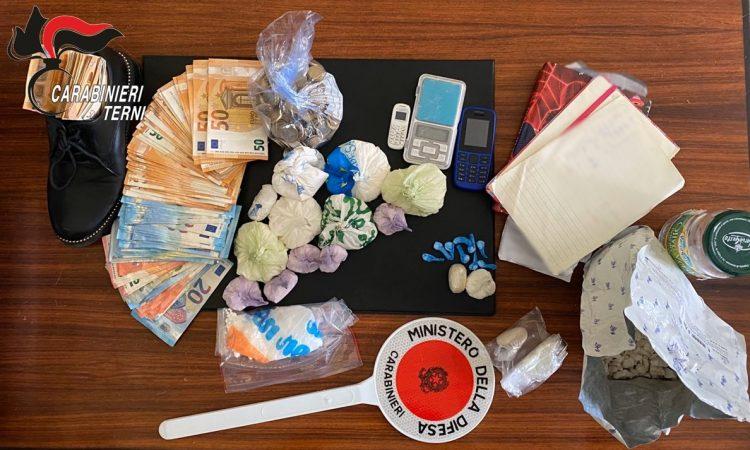 Photo of Terni, cocaina ed eroina in casa sua e in quella attigua: arrestato un 41enne