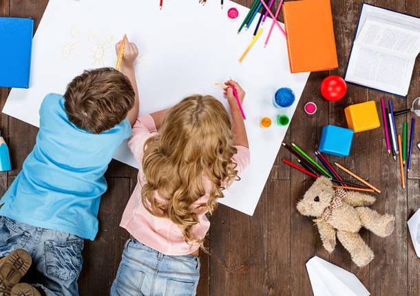 bambini che disegnano - Umbria in diretta