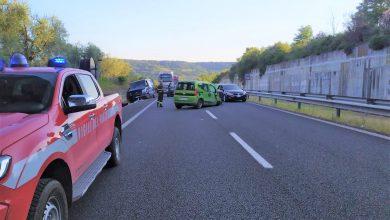 Photo of Incidente sul raccordo Terni-Orte: il conducente di un furgone rimasto incastrato sotto il mezzo