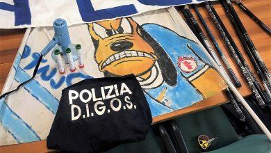 Photo of Ultras della Lazio manifestano vicino al carcere di Terni per un detenuto, nei guai in 12