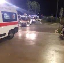 Photo of Ambulanze con pazienti covid in fila davanti al pronto soccorso di Terni. Il monito della Cri