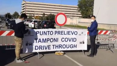 Photo of Covid, a Terni trasferita in via Bramante la postazione drive trough per i tamponi rinofaringei